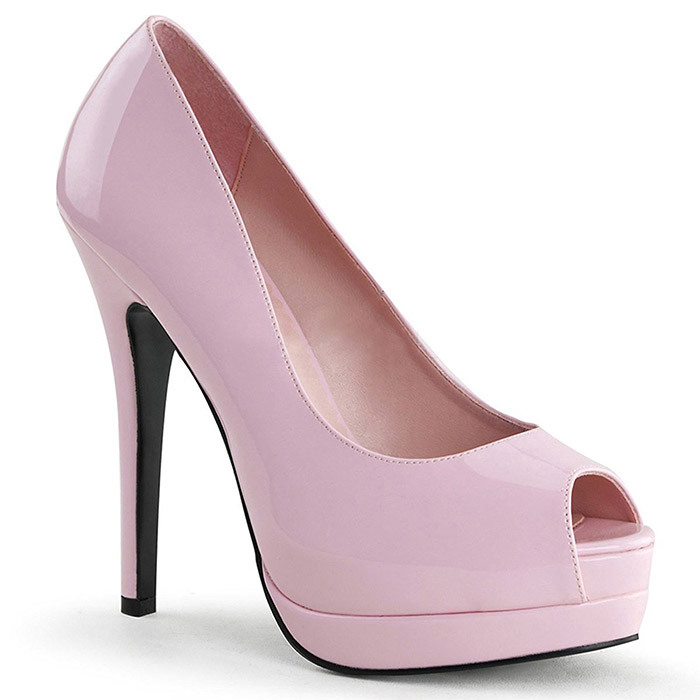 <p><strong>Bordello Bella 12 in Baby Pink</strong>, $60, <em>shoes.com</em></p>