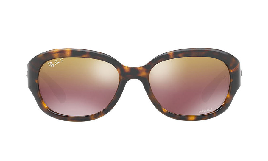 <p><strong>Ray-Ban Chromance Collection in Tortoise Purple</strong>, $270, <em>sunglasshut.com</em></p>