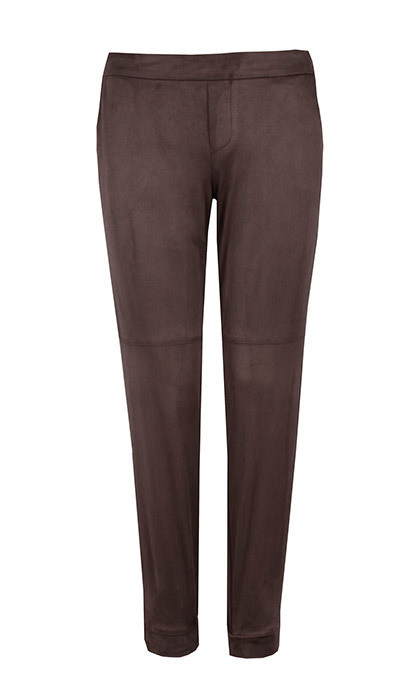 <p><strong>Whip Pants in Brown</strong>, $104, <em>ilovetylermadison.com</em></p>