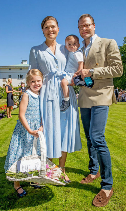 Princess Estelle of Sweden has all the personality and all of the cute! Here is a look at Crown Princess Victoria and Prince Daniel's little girl and all of her sweetest moments in front of the camera. 