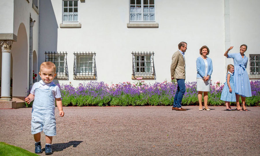 Crown Princess Victoria of Sweden and Crown Prince Daniel's little boy Prince Oscar of Sweden, born on March 2, 2016, has stolen our hearts! Click through our gallery to see all of the little Prince's cutest moments.
