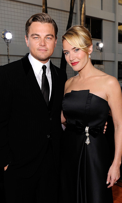 Leonardo DiCaprio and Kate Winslet are auctioning themselves off for dinner with a fan.