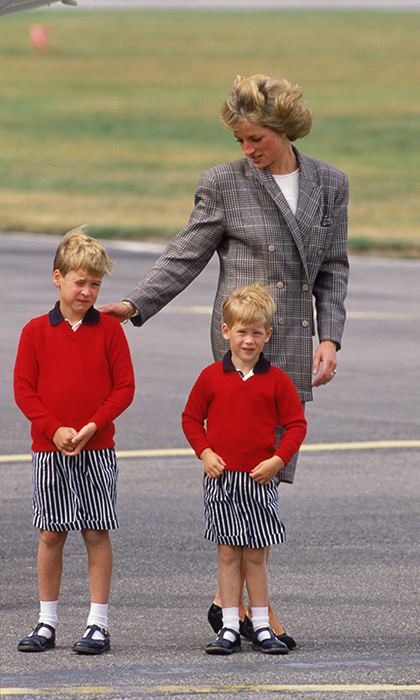 "<p>Harry has one question for his mother. ""One thing I would love to ask her now,"" said Harry, smiling. ""I genuinely think she got satisfaction out of dressing myself and William up in the most bizarre outfits &ndash; normally matching. It was weird shorts and little shiny shoes with the old clip on. Looking back at the photos it just makes me laugh and I think, 'How could you do that to us?'</p>