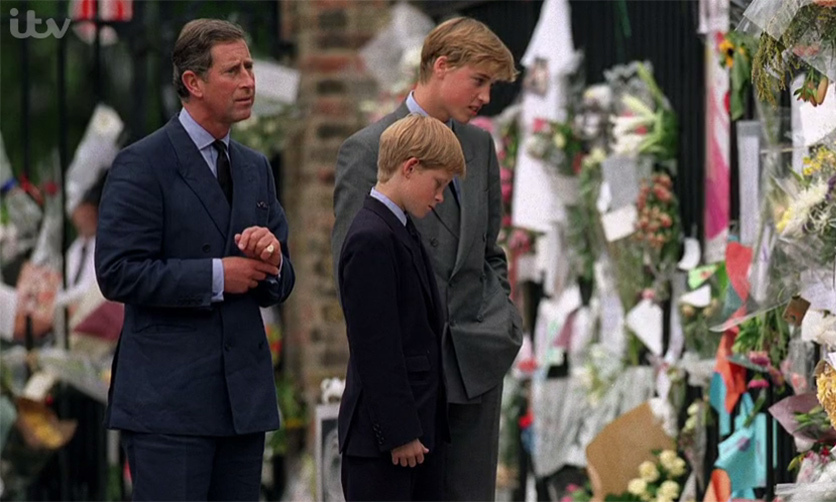 <p>In a particularly poignant moment, the Princes recalled the last time they spoke to their mum, which happened on the day that she died.</p>