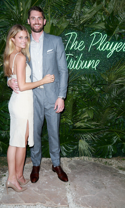 Model Kate Bock and NBA star Kevin Love got dolled up for The Players' Tribune Hosts Players' Night Out in Beverly Hills on July 11.