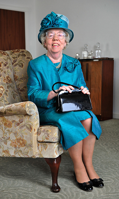 Ella Slack has acted as the Queen's stand-in for over 30 years.