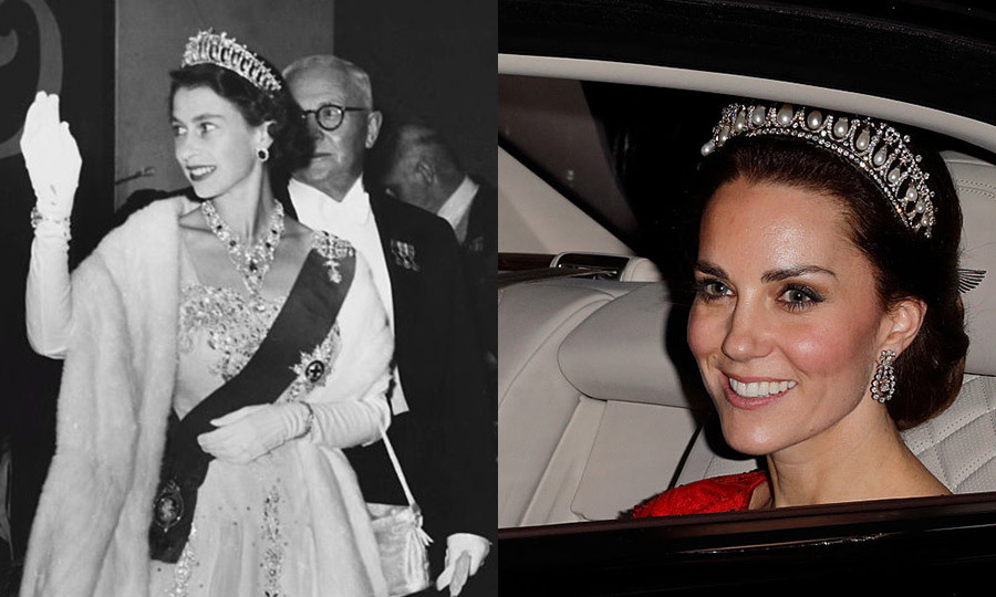 <h3>Lover's knot tiara</h3>