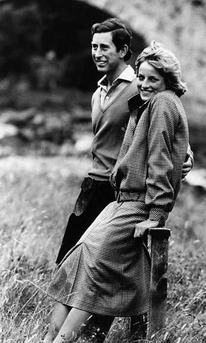 "<strong><a href=""/tags/0/prince-charles"">Charles</a></strong> and <strong><a href=""/tags/0/princess-diana"">Diana</a></strong> pictured on the banks of the River Dee in the grounds of <strong><a href=""/tags/0/balmoral"">Balmoral Castle</a></strong>, Scotland while on their honeymoon.