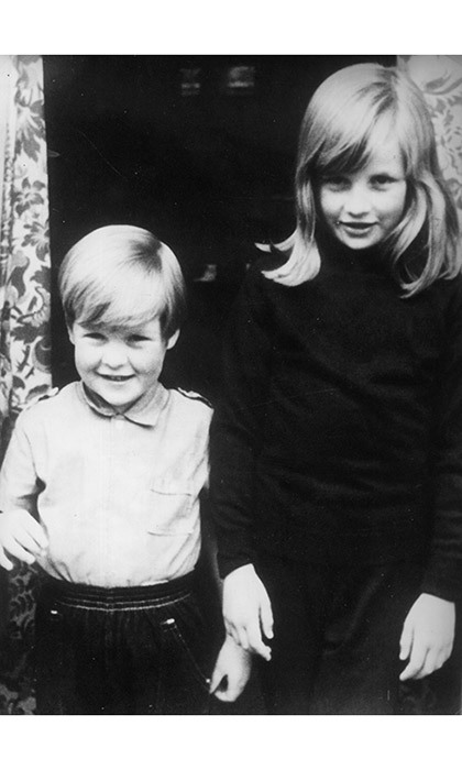 "<strong><a href=""/tags/0/princess-diana"">Diana</a></strong> pictured with her younger brother <Strong><a href=""/tags/0/charles-spencer"">Charles</a></strong>.