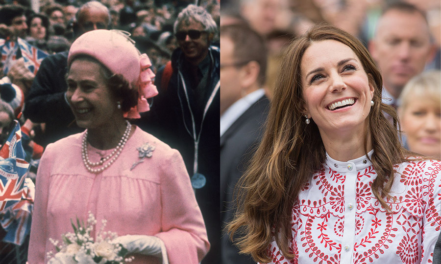 <h3>Small diamond and pearl earrings</h3>