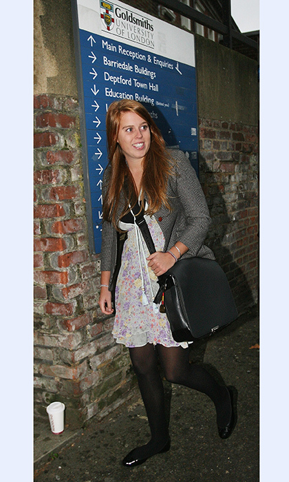 <h4>Princess Beatrice was a ...</h4>