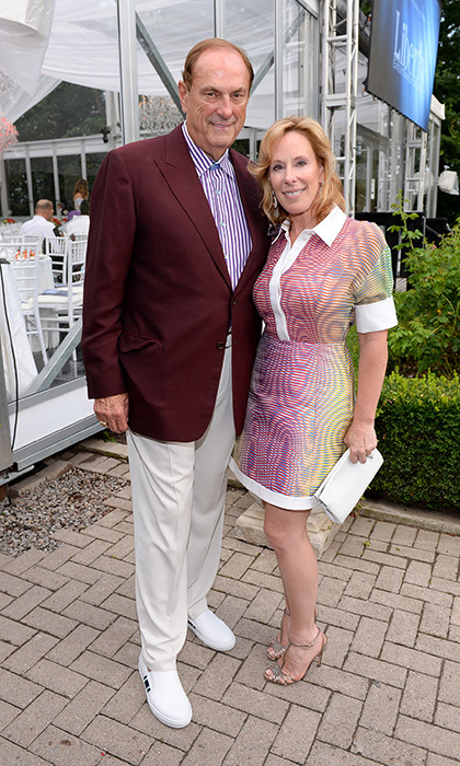 Jim Treliving and Sandi-Treliving