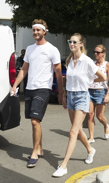 <p>Monaco royals Pierre Casiraghi and Beatrice Borromeo stepped out together for Day 3 of the 36th Copa Del Rey Mafre Sailing Cup on August 2 in Palma de Mallorca, Spain.</p><p>The new parents, who welcomed their son Stefano back in late February, were sans their child for the aquatic event. Both dressed casually and appeared happy to be at the prestigious race together. </p><p>Photo: Carlos Alvarez/Getty Images</p>