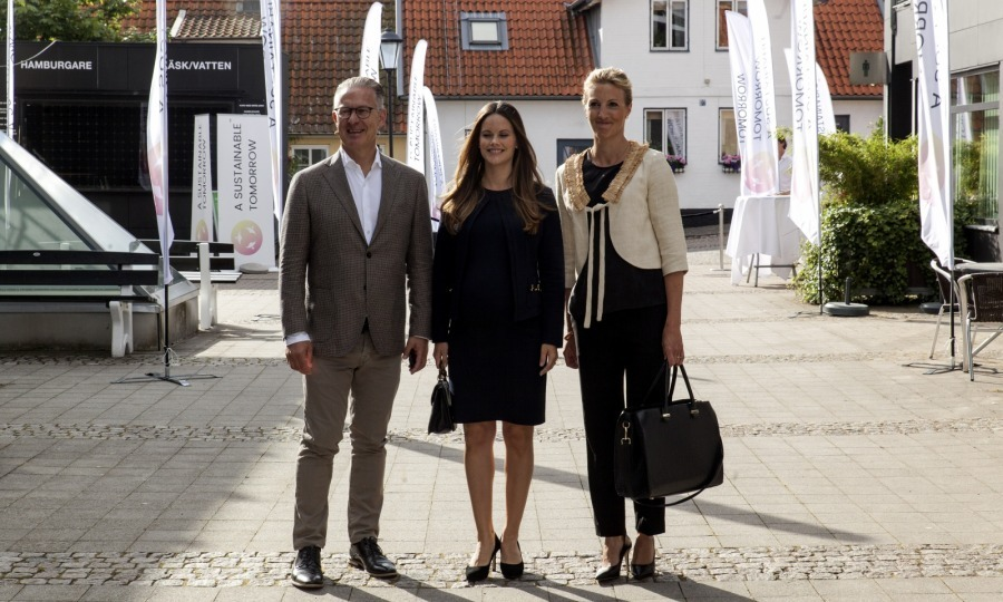 "<p>On August 2, Princess Sofia of Sweden (center) marked the last official engagement off her checklist before she is due to give birth in September. The 32-year-old royal participated in a seminar regarding sustainability issues called ""A Sustainable Tomorrow"" in Båstad, Sweden.</p><p>Seen here, Sofia arrived with Bo Nielsson and Susanne Johansson.</p><p>Photo: Ole Jensen/Getty Images</p>"