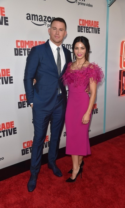 Channing Tatum had the support of his lovely wife Jenna Dewan Tatum at the premiere of his new Amazon film, <em>Comrade Detective</em>. The pair looked stunning while walking the carpet at ArcLight Hollywood on August 3. 