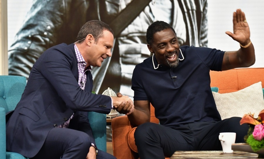 Idris Elba has been busy promoting his film <em>Dark Tower</em>. The actor enjoyed stopping by the talk show <em>Despierta America</em> on August 2 in Miami, Florida. 