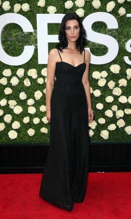 <em>Mad Men</em> alum Jessica Pare looked lovely on the CBS Television Studios' Summer Soiree carpet at CBS Studios in Studio City, California. The stunning 36-year-old stepped out for the August 1 event, wearing a floor-length dark dress that featured a sweetheart neckline.