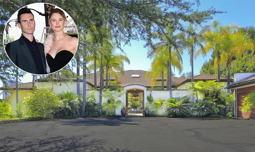 "<p><strong><a href=""/tags/0/adam-levine/"">Adam Levine</a></strong> and his wife <strong><a href=""/tags/0/behati-prinsloo/"">Behati Prinsloo</a></strong> have bought an impressive new family home to live in with their daughter Dusty Rose. The couple are set to move into the famous Holmby Hills neighbourhood in Los Angeles after spending $18 million on a five bedroom, five-and-a-half bath home, according to property website Trulia.</p>