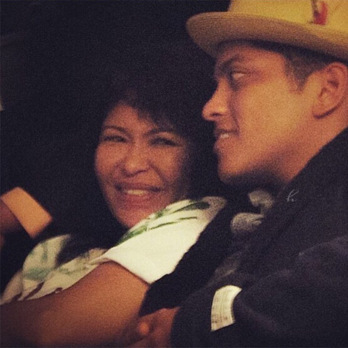 When he posted this photo honouring his mother