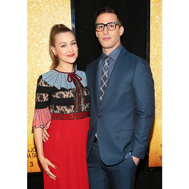 <h2>Andy Samberg and Joanna Newsom</h2>