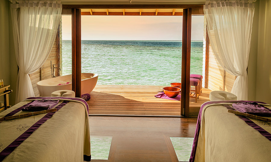 <h3>The Lowdown</h3><p> Seven nights in a beach villa on the Hurawalhi Island Resort's All-Inclusive Plus package starts from $6,225 per person, including return seaplane transfers to and from Malé. Spa treatments are extra; the 90-minute Heaven on Earth ritual costs $170. Visit hurawalhi.com.</p>