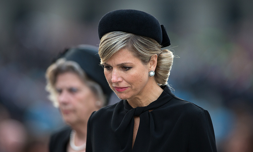 Queen Maxima Mourning The Death Of Her Father Hello Canada