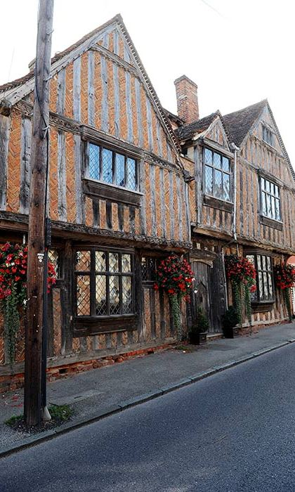 De Vere House in Lavenham starred in the film Harry Potter and the Deathly Hallows.