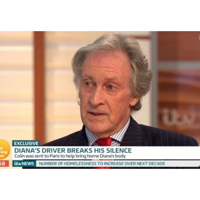 Princess Diana's driver Colin Tebbutt spoke about her fatal car crash on Good Morning Britain.