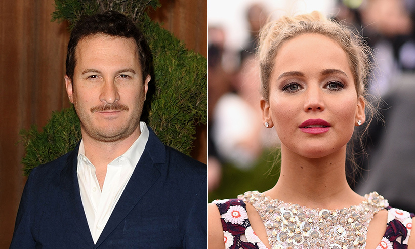 <h2>Jennifer Lawrence and Darren Aronofsky</h2>