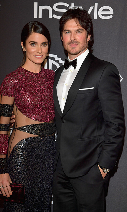 <h2>Ian Somerhalder and Nikki Reed</h2>