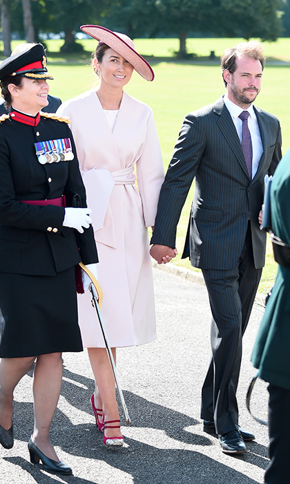 The Luxembourg royals, including Sandhurst-alum Prince Felix and his wife Princess Claire, were also in attendance to support the Grand Duke and Duchess's youngest son Prince Sébastien, who graduated alongside Prince Hussein of Jordan.