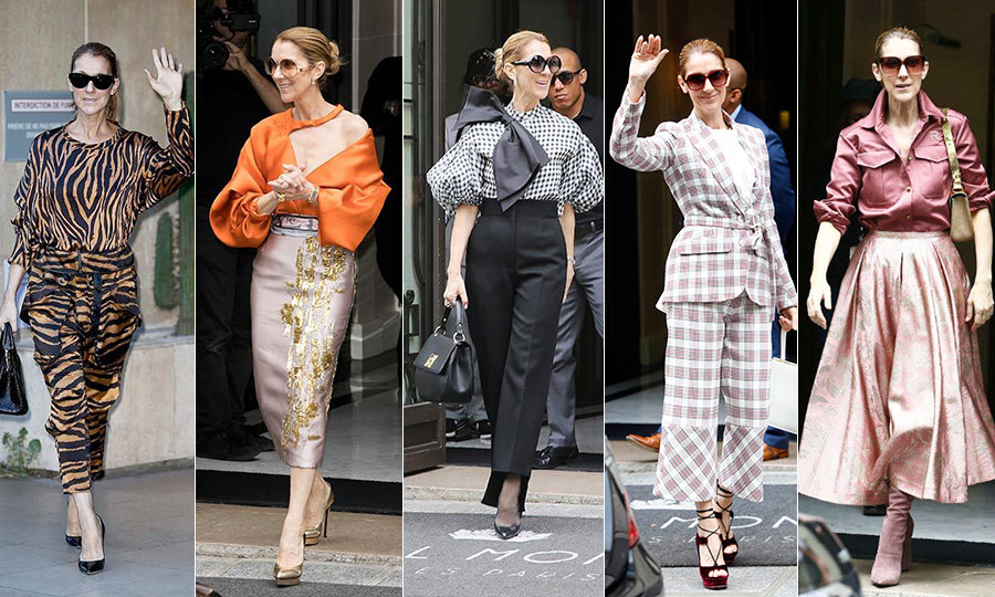 Celine Dion's fashionable tour of Europe has sadly come to an end. While we'll miss the singer's daily dose of stop-you-in-your-tracks street style, we know that her reign as queen of couture is far from over.  