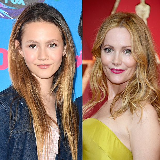 <h2>Leslie Mann and Iris Apatow</h2>