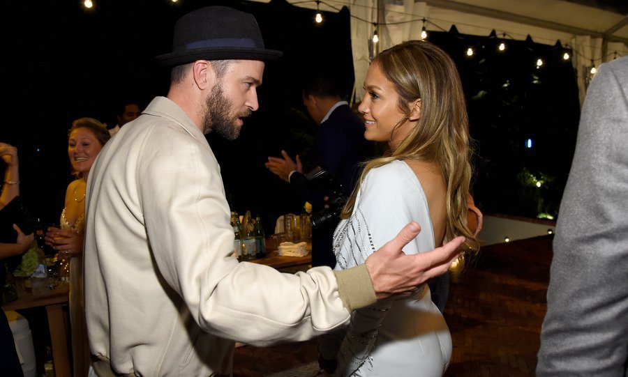 Fancy meeting you here! Justin Timberlake and Jennifer Lopez got caught up at Apollo in the Hamptons 2017 hosted by Ronald O. Perelman at The Creeks on Aug 12 in East Hampton, New York. 