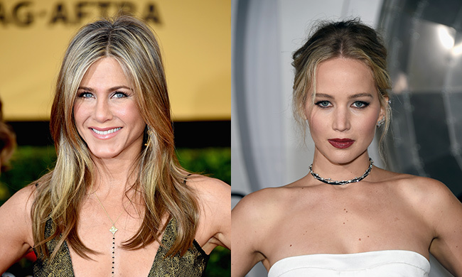 Jennifer Aniston and Jennifer Lawrence