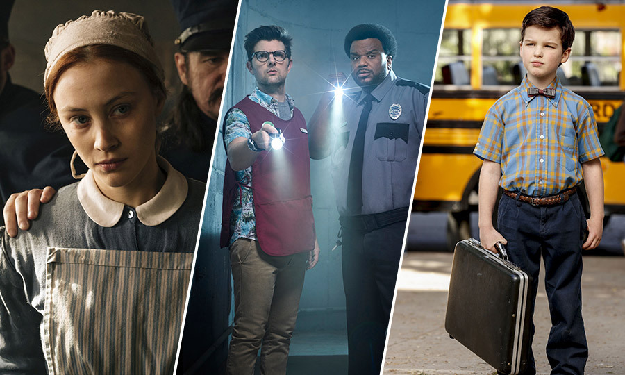 The arrival of fall brings with it a new crop of TV series to add to your watch list. 