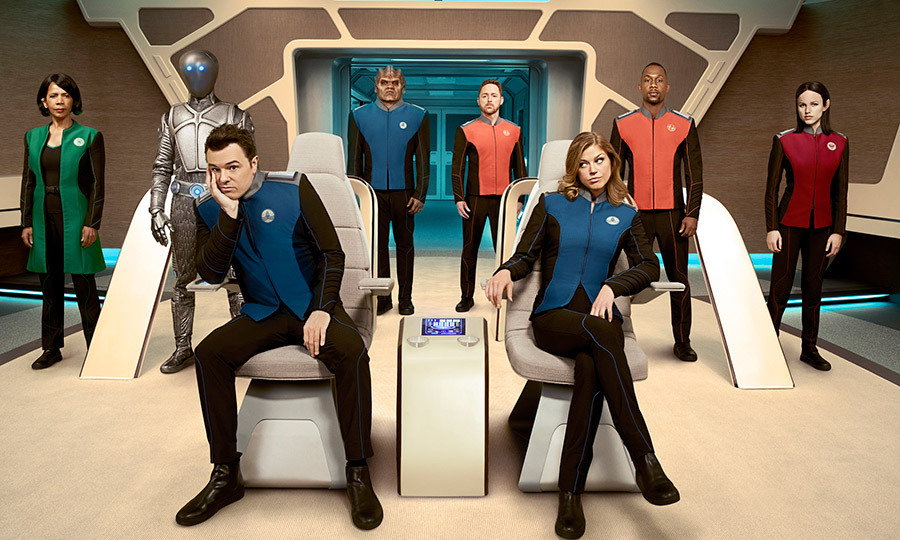 <h3>THE ORVILLE</h3>