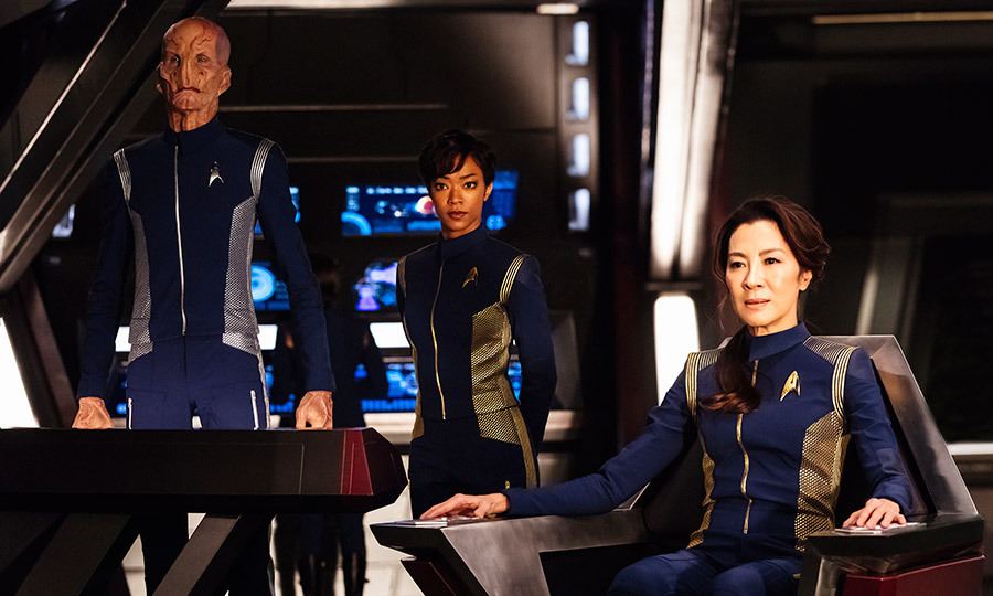 <h3>STAR TREK: DISCOVERY</h3>