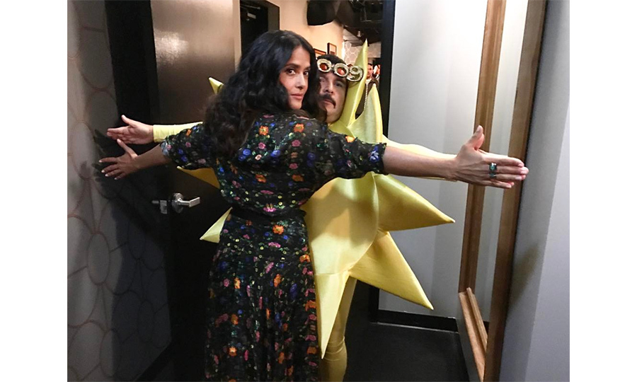 <h4>Salma Hayek</h4>