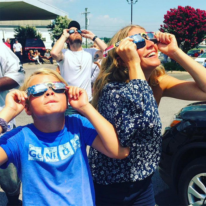 <h4>Gwyneth Paltrow and Moses Martin</h4>