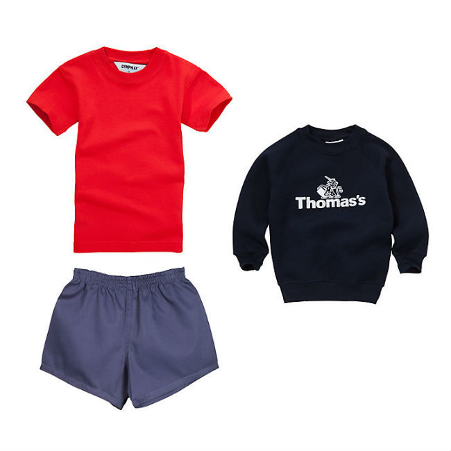 Prince George will be required to wear this gym uniform for sports.