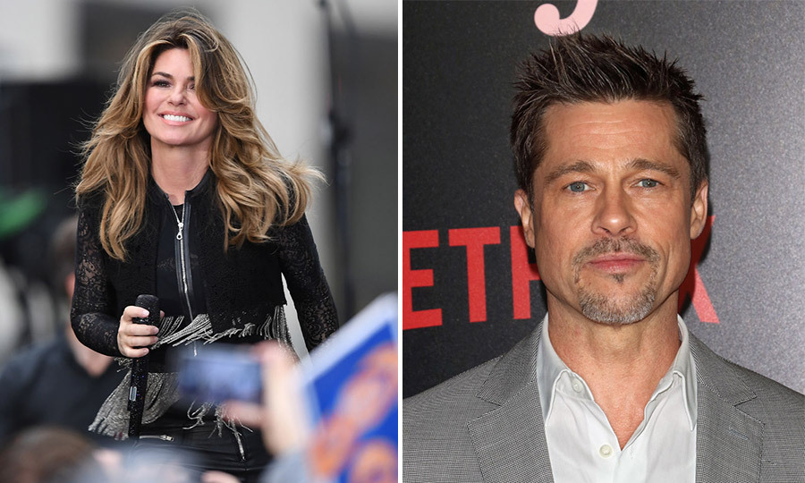 Shania Twain Reveals Why She Calls Out Brad Pitt In That