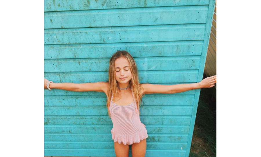 "Lady Amelia Windsor celebrated her 22nd birthday in Brancaster, Norfolk on August 24. Sharing a picture from her special day, the British royal wrote, ""Blissful Beach Baffoon.""