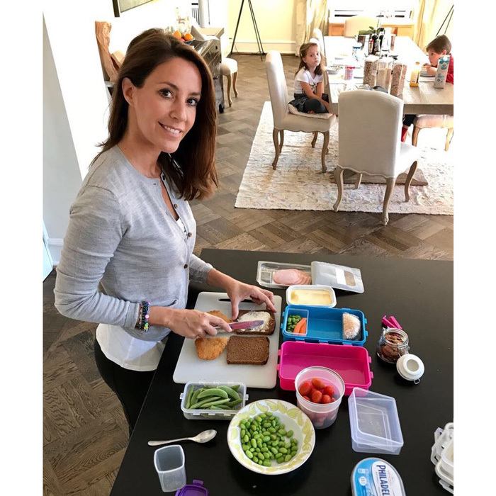"Princess Marie of Denmark proved she's like every other mom preparing lunch for her young children (Princess Athena and Prince Henrik) on August 24. Prince Joachim snapped this photo of his French-born wife, which was released in connection with the Princess' participation in the ""World Food Summit - Better Food for More People 2017.""