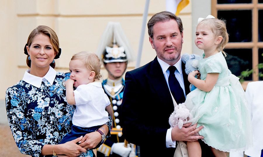 Another Swedish royal baby is on the way! Princess Madeleine announced on Aug 27 that she and husband Chris O'Neill are expecting their third child together. The happy couple is already parents to Princess Leonore, 3, and two-year-old Prince Nicolas. 