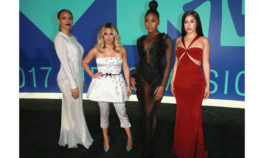 <h3>Fifth Harmony (Dinah Jane, Ally Brooke, Normani Kordei, and Lauren Jauregui)</h3>