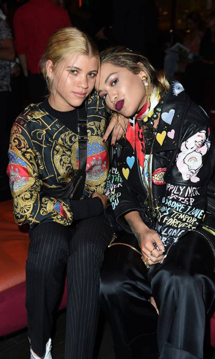 Rita Ora helped Sofia Richie celebrate her 19th birthday at TINGS magazine launch party presented by Pretty Little Things at West Hollywood hotspot Nightingale where DJ Anthony Pisano kept the crowd entertained on August 23.