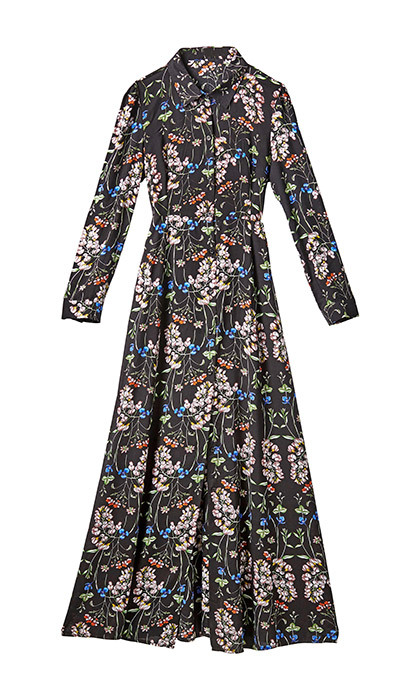 <p><strong>Long Sleeved Floral Maxi Dress</strong>, $50, <em>marshalls.ca</em></p>