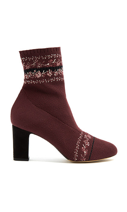 <p><strong>Tabitha Simmons Anna Floral-Embroidery Sock Ankle Boot</strong>, $671, <em>matchesfashion.com</em></p>