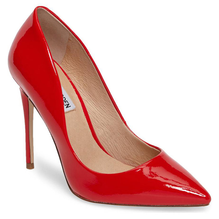 <p><strong>Steve Madden Daisie Pointy-Toe Pumps</strong>, $120, <em>nordstrom.com</em></p>